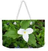Trillium - White Beauty Weekender Tote Bag