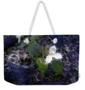 Trilliums Weekender Tote Bag