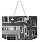 Trims And Courses Black And White Weekender Tote Bag