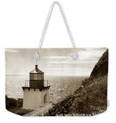 Trinidad Head Light Humboldt County California 1910 Weekender Tote Bag