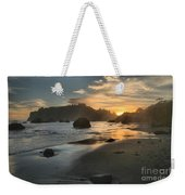 Trinidad Sunset Reflections Weekender Tote Bag