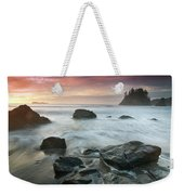 Trinidad Sunset Seascape Weekender Tote Bag