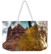 Trinity And The Hancock Weekender Tote Bag