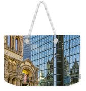 Trinity Church Weekender Tote Bag by Maria Coulson