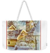 Trinity Episcopal Church In The Snow - Shepherdstown  Weekender Tote Bag