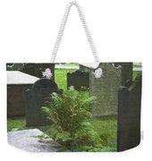 Trinity Fern Squared Weekender Tote Bag