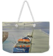 Trinity Long Line Fishing Trawler At San Remo  Weekender Tote Bag