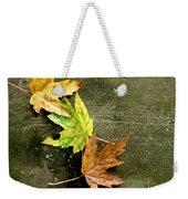 Trio Of Leaves Weekender Tote Bag