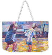 Trios At Dominion Skating Rink Weekender Tote Bag