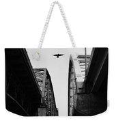 Triple Bridges Weekender Tote Bag