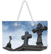 Triple Crosses Weekender Tote Bag
