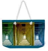Triple Perspective Weekender Tote Bag