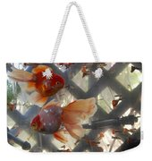 Triple Tail Goldfish Weekender Tote Bag