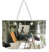 Tripods And Set Up Weekender Tote Bag