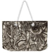 Tripping Through Bogomils Mind Weekender Tote Bag by Otto Rapp
