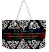 Triquetra Weekender Tote Bag
