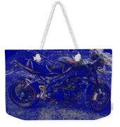 Triumph In Blue Weekender Tote Bag