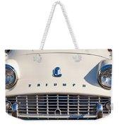 Triumph Tr3 Grille Emblem Weekender Tote Bag