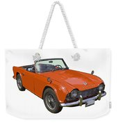 Triumph Tr4 - British - Sports Car Weekender Tote Bag
