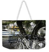 Trois Bikes Weekender Tote Bag