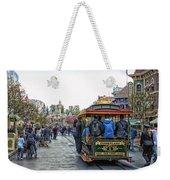 Trolley Car Main Street Disneyland 01 Weekender Tote Bag