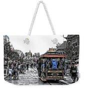 Trolley Car Main Street Disneyland Sc Weekender Tote Bag