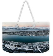Tromso From The Mountains Weekender Tote Bag