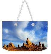 Trona Pinnacles California Weekender Tote Bag