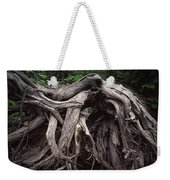 Troots Of A Fallen Tree By Wawa Ontario Weekender Tote Bag