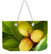 Tropical Almond Weekender Tote Bag