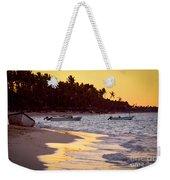 Tropical Beach At Sunset Weekender Tote Bag by Elena Elisseeva