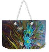 Tropical Blue Weekender Tote Bag