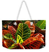 Tropical Croton Weekender Tote Bag