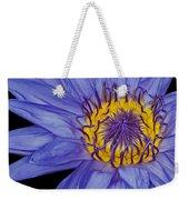 Tropical Day Flowering Waterlily Weekender Tote Bag