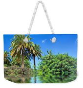 Tropical Exotic Jungle And Water Weekender Tote Bag