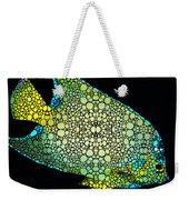 Tropical Fish Art 8 - Abstract Mosaic By Sharon Cummings Weekender Tote Bag