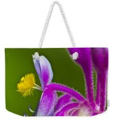 Tropical Flower Detail Weekender Tote Bag