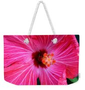 Tropical Flower Time Weekender Tote Bag