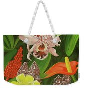 Tropical Foliage Weekender Tote Bag