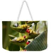 Tropical Fountain Of Seeds Weekender Tote Bag