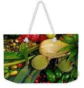 Tropical Fruits Weekender Tote Bag