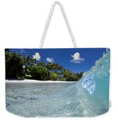 Tropical Glass Weekender Tote Bag