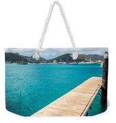 Tropical Harbor Weekender Tote Bag
