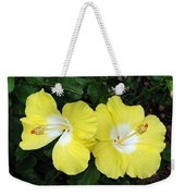 Tropical Hibiscus - Bonaire Wind 01 Weekender Tote Bag