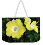 Tropical Hibiscus - Bonaire Wind 02 Weekender Tote Bag