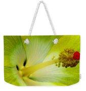 Tropical Hibiscus - Bonaire Wind 06a Weekender Tote Bag