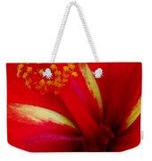 Tropical Hibiscus - Starry Wind 03a Weekender Tote Bag
