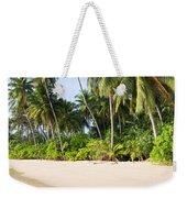 Tropical Island Beach Scenery Weekender Tote Bag