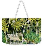 Tropical Island  Weekender Tote Bag