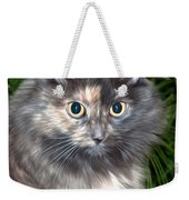 Tropical Kitty Weekender Tote Bag